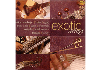 VARIOUS - Exotic Strings - (CD)