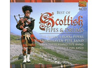 VARIOUS - Best Of Scottish Pipes & Drums [CD]