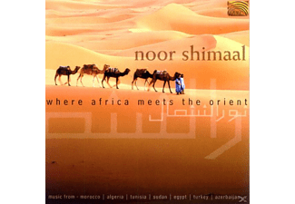 Noor Shimaal - Where Africa Meets The Orient - (CD)