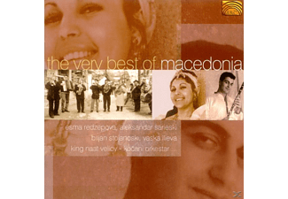 VARIOUS - Best Of Macedonia, The Very [CD]