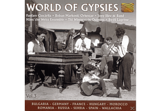 VARIOUS - World Of Gypsies Vol.3 - (CD)