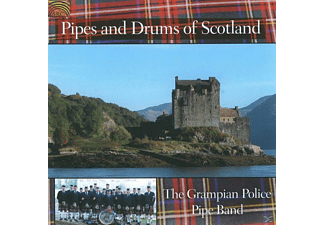 Grampian Police Pipe Band - Pipes And Drums Of Scotland [CD]