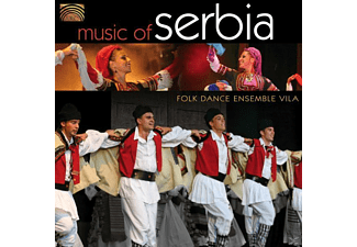 Folk Dance Ensemble Vila - Music Of Serbia [CD]