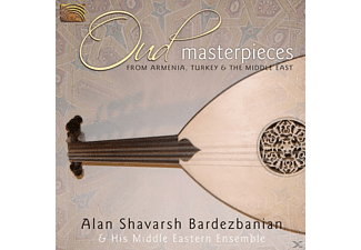 Alan Shavarsh Bardezbanian - Oud Masterpieces - (CD)