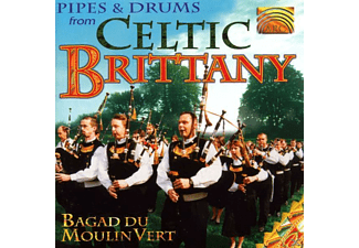 Bagat Du Moulin Vert - Pipes & Drums From Celtic Britany - (CD)