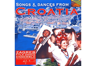 Fagreb Folk Dance Ensemble - Songs & Dances From Croatia [CD]