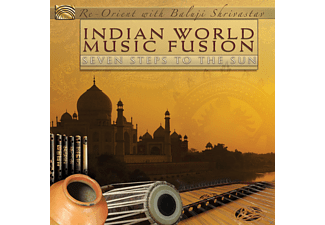 Re-orient, Shrivastav Baluji - Indian World Fusion-Seven Steps To The Sun [CD]