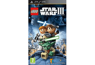 LEGO Star Wars III: The Clone Wars Essentials PSP