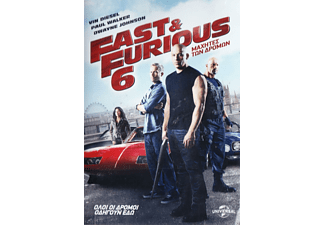 FAST AND  FURIOUS 6: ΜΑΧΗΤΕΣ ΤΩΝ ΔΡΟΜΩΝ DVD