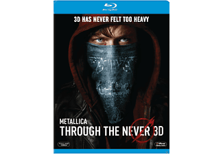 Metallica Through the Never Blu-ray 3D
