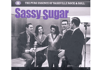 VARIOUS - Sassy Sugar-Nashville Rock'n'roll - (CD)