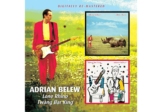 Adrian Belew - Lone Rhino/Twang Bar King - (CD)