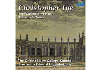 Oxford The Choir Of New College - The Western Wind Mass,Anthems & Motets - (CD)