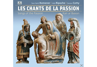 Yann Fanch Kemener, Aldo Ripoche, Damien Cotty - Les Chants De La Passion - (CD)