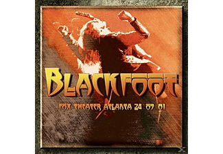 Blackfoot - Fox Theater Atlanta 24-07-81 - (CD)