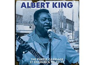 Albert King - The Purple Carriage St Charles Il 02-02-74 - (CD)