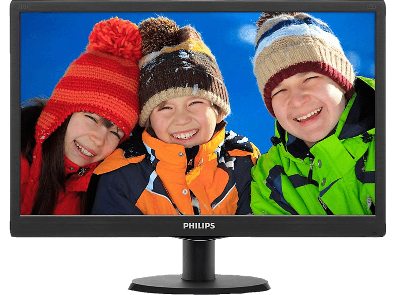 "PHILIPS 203V5LSB2 - 20"""" HD Monitor web offers laptop  tablet  computing  οθόνες computing   tablets   offline οθόνε"