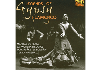 VARIOUS - Legends Of Gypsy Flamenco [CD]