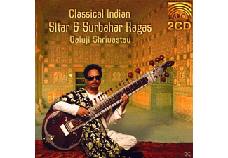 Shrivastav Baluji - Classical Indian Sitar & Surba - (CD)