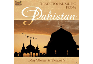 Asif Bhatti - Traditional Music From Pakistan - (CD)