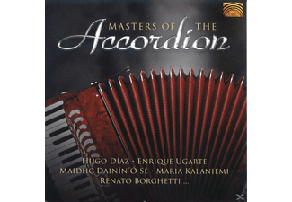 VARIOUS - Masters Of The Accordion [CD]