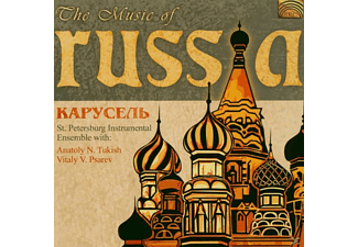 ST.PETERSBURG ENSEMBLE CAROUSE - The Music Of Russia - (CD)