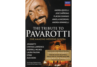 VARIOUS - The Tribute To Pavarotti - One Amazing Weekend In Petra [DVD]