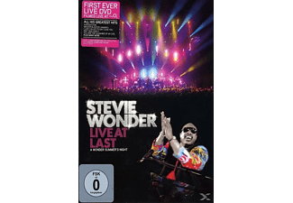 Stevie Wonder - Live At Last - A Wonder Summer's Night [DVD]