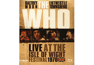 The Who - Live At The Isle Of Wight Festival 1970 - (Blu-ray)