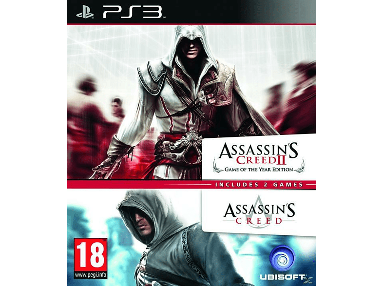 Assassins Creed 1 and Assassins Creed 2 gaming   offline sony ps3 παιχνίδια ps3 gaming games ps3 games