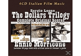 Ennio Morricone - Complete Dollars Trilogy - (CD + Buch)