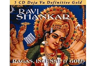 Ravi Shankar - Ragas, Incense & Gold [CD]