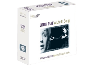 Edith Piaf - A Life In Song - Deluxe Edition (CD)