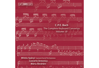 Concerto Armonico Budapest, Miklos Spanyi - The Complete Keyboard Concertos Vol. 19 - (CD)