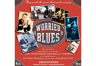 VARIOUS, Frank Hutchison - Worried Blues - (CD)