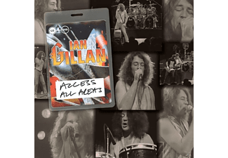 Ian Gillan - Access All Areas - (CD + DVD Video)
