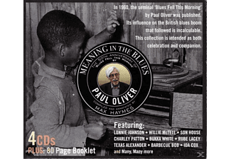 Paul Oliver, Lonnie Johnson, Son House, Charley Patton, Bukka White, Rube Lacey, Texas Alexander, Barbecue Bob, Ida Cox, Blind Willie McTell - Meaning In The Blues (The 50th Anniversary) - (CD)