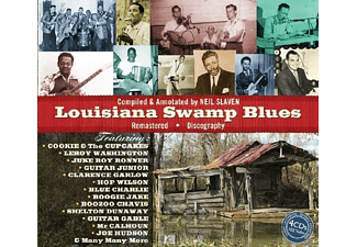VARIOUS - Louisiana Swamp Blues - (CD)