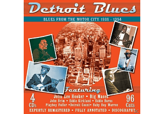 VARIOUS - Detroit Blues - (CD)