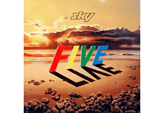 The S.k.y. - Five Live - (CD)