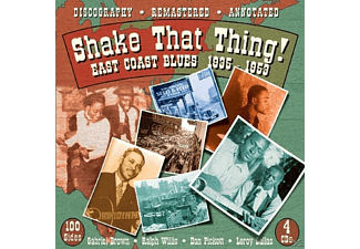 VARIOUS - Shake That Thing.East Coast Blues - (CD)