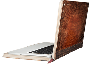 TWELVE SOUTH 12-1322 Rutledge BookBook, Bookcover, 13 Zoll, MacBook Pro Retina 13, Rotbraun