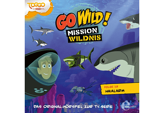Go Wild!-Mission Wildnis - (12)Original Hörspiel Z.Tv-Serie-Haialarm - (CD)