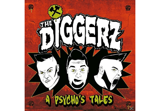 The Diggerz - A Psycho's Tale - (CD)