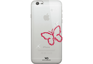WHITE DIAMONDS Lipstick Butterfly Backcover Apple iPhone 6, iPhone 6s Kunststoff Crystal