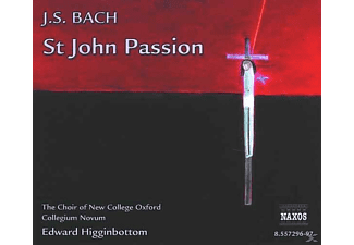 Edward/choir Of New College Oxford Higginbottom - Johannes-Passion - (CD)