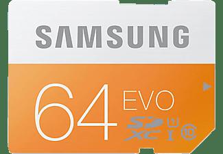 SAMSUNG EVO SDXC Speicherkarte , 64 GB