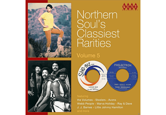 VARIOUS - Northern Soul's Classiest Rarities Vol.5 - (CD)