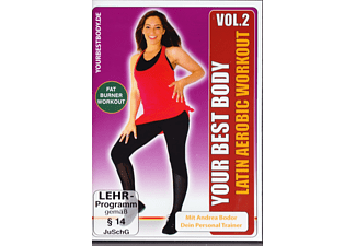 Your Best Body - Latin Aerobic Workout Vol. 2 - (DVD)