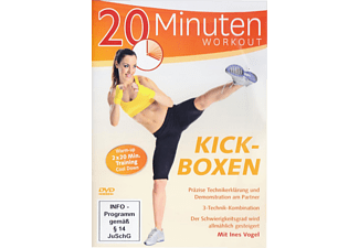 Kickboxen-2x 20 Minuten Workout - (DVD)